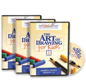 The Art of Drawing for Kids - DVD Set