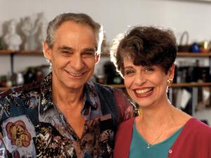 Larry Gluck and Sheila Gluck